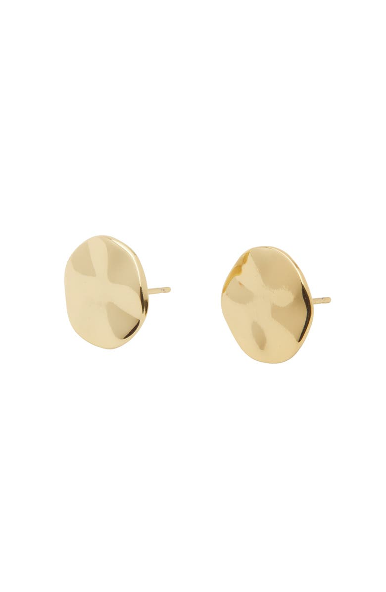 GORJANA Chloe Small Stud Earrings, Main, color, GOLD