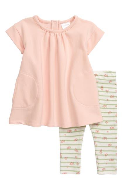 Image of Nordstrom Baby Baby Fleece Dress & Leggings Set