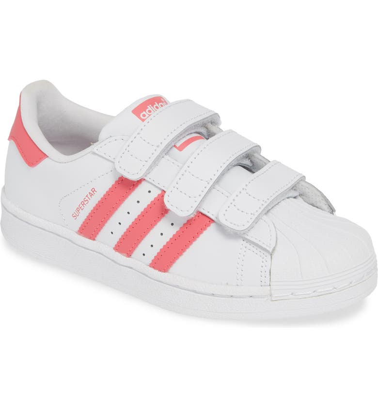 ADIDAS Superstar Sneaker, Main, color, WHITE