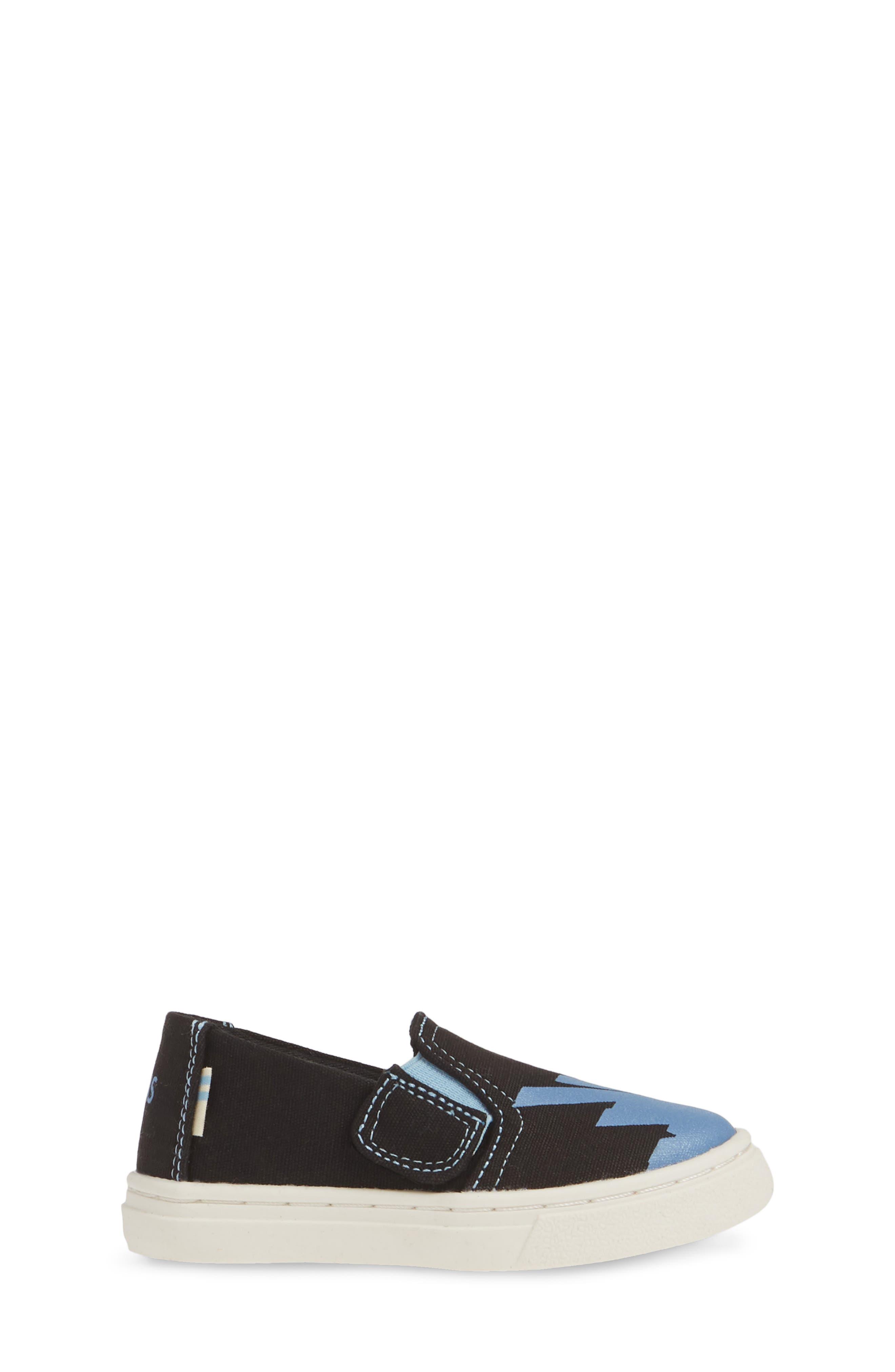 ,                             Luca Slip-On Sneaker,                             Alternate thumbnail 3, color,                             BLACK