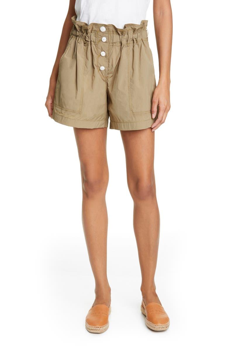 RAG & BONE Glenn Paperbag Waist Shorts, Main, color, 300