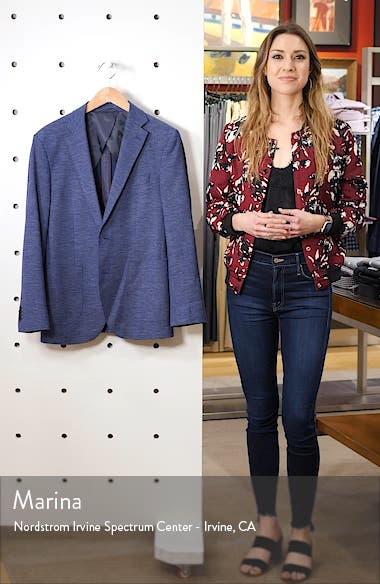 Fife Street Wool Blend Blazer, sales video thumbnail