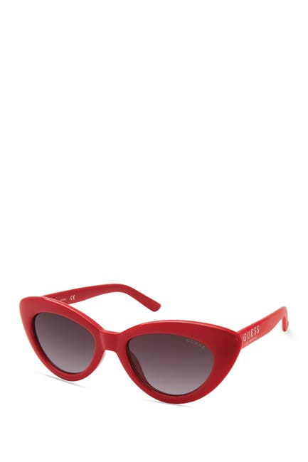 Image of GUESS 51mm Cat Eye Sunglasses
