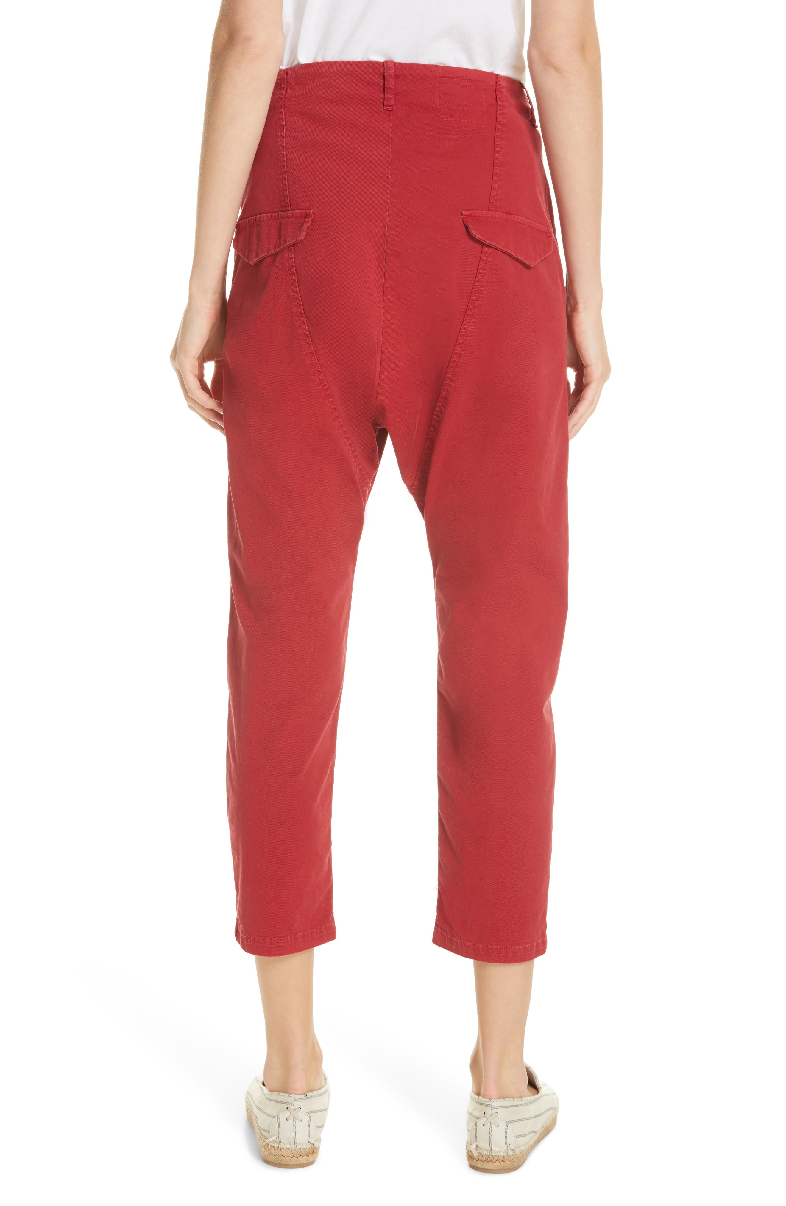 ,                             Paris Pants,                             Alternate thumbnail 2, color,                             SUNKISSED RED