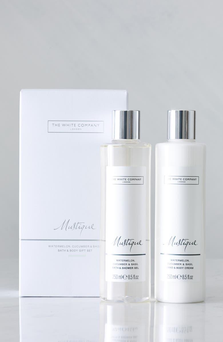 THE WHITE COMPANY Mustique Bath & Body Set, Main, color, MUSTIQUE