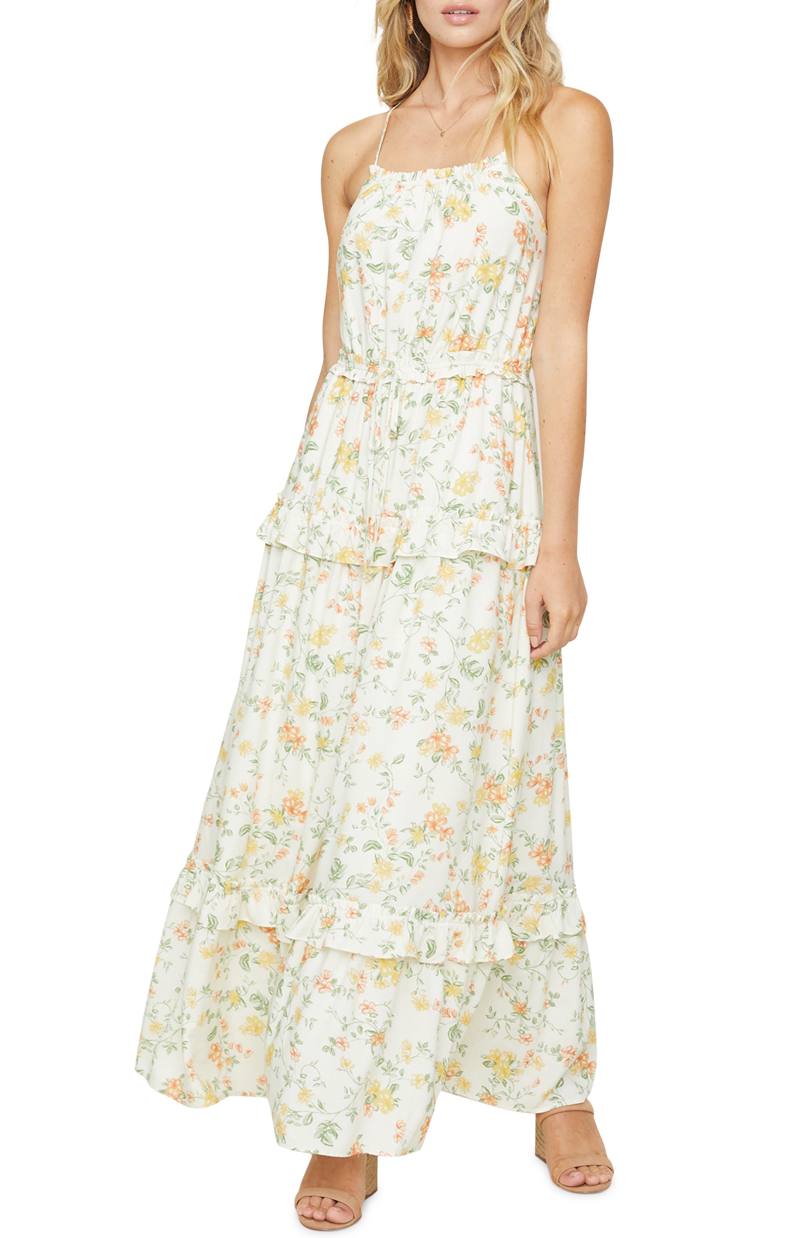 Women's Lost + Wander Big Escape Floral Maxi Dress