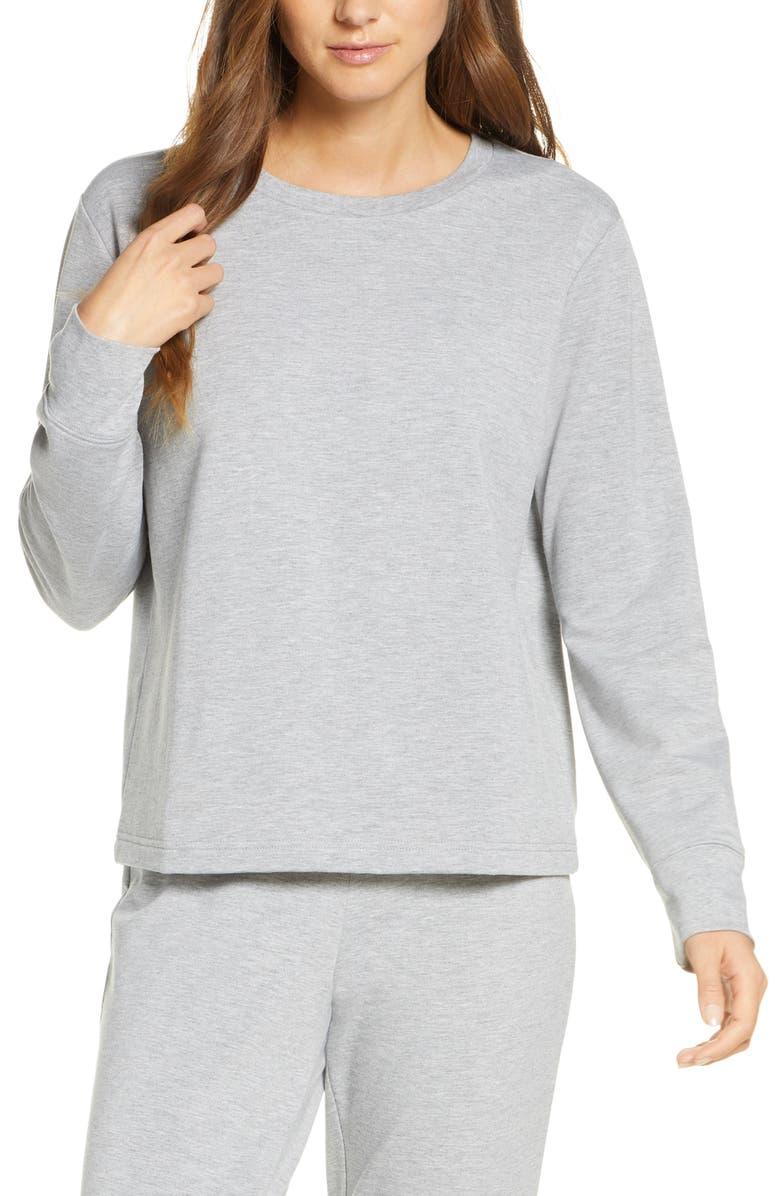 RACHEL PARCELL Fleece Pullover, Main, color, 030
