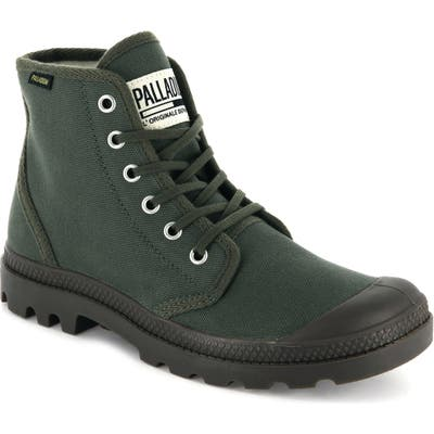 Palladium Pampa Hi Original Sneaker Boot- Green