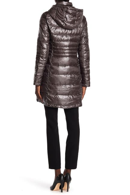 Image of Andrew Marc Insulated Quilted Coat