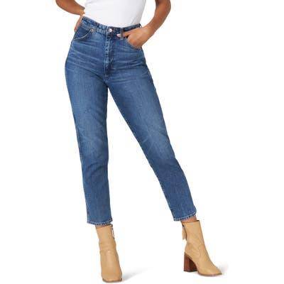 Wrangler Icons(TM) 11Wwz Indigood(TM) High Waist Crop Slim Leg Jeans, 7 x 28 - Blue
