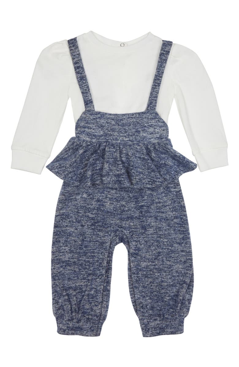 HABITUAL Olivia Top & Hacci Knit  Jumpsuit Set, Main, color, INDIGO