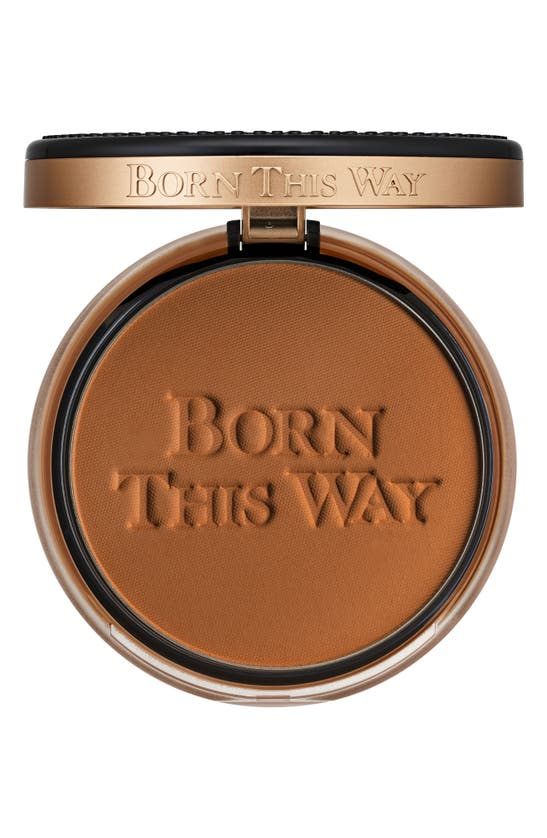 Too Faced Born This Way Undetectable Medium-to-full Coverage Powder Foundation In Cocoa