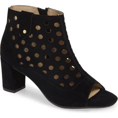 Bettye Muller Concepts Finn Peep Toe Bootie, Black