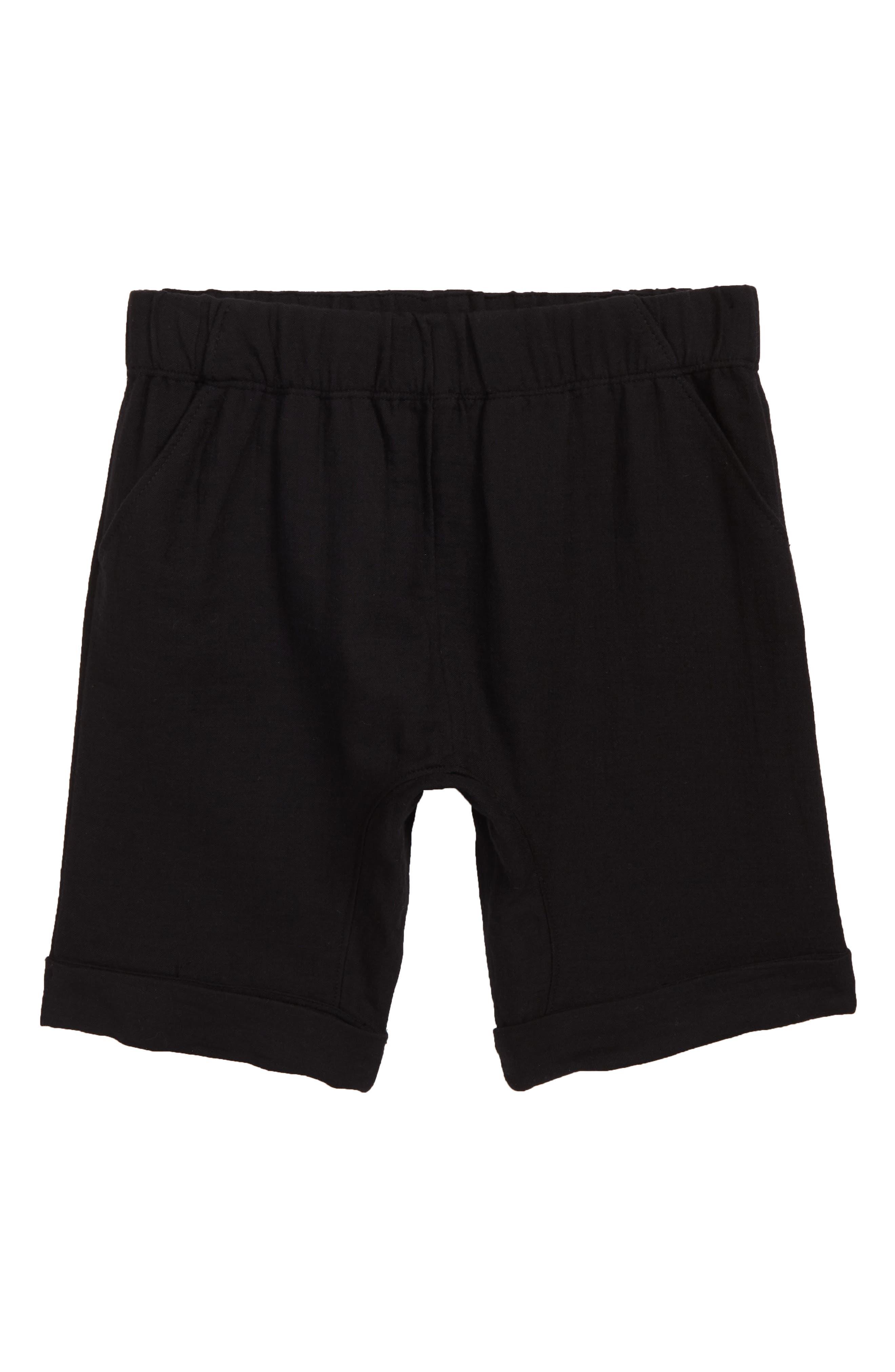 ,                             Monkey Shorts,                             Main thumbnail 1, color,                             BLACK