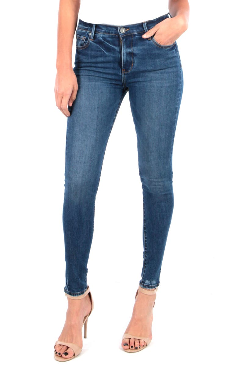 KUT FROM THE KLOTH Mia High Waist Skinny Jeans, Main, color, UNTOUCHABLE