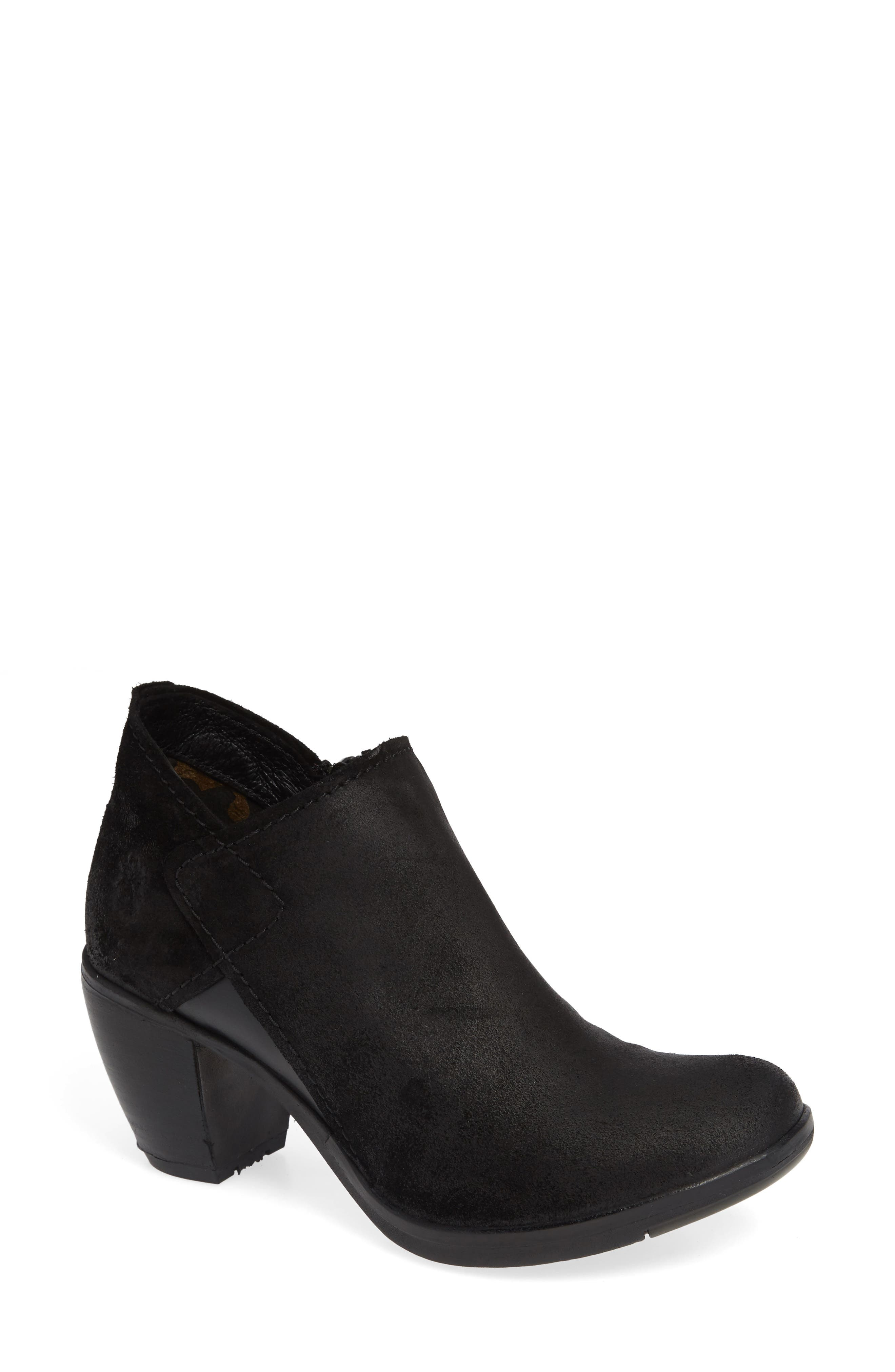 Fly London Hace Bootie - Black