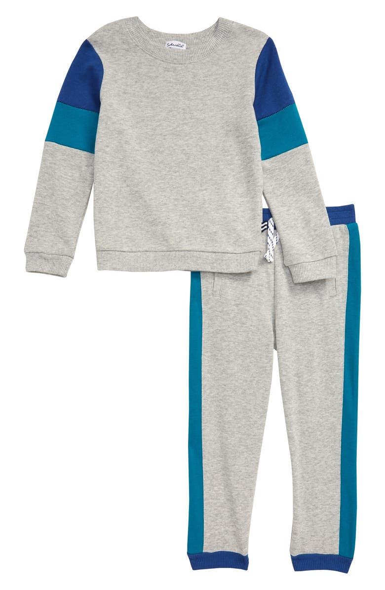 SPLENDID Sweatshirt & Sweatpants Set, Main, color, 020