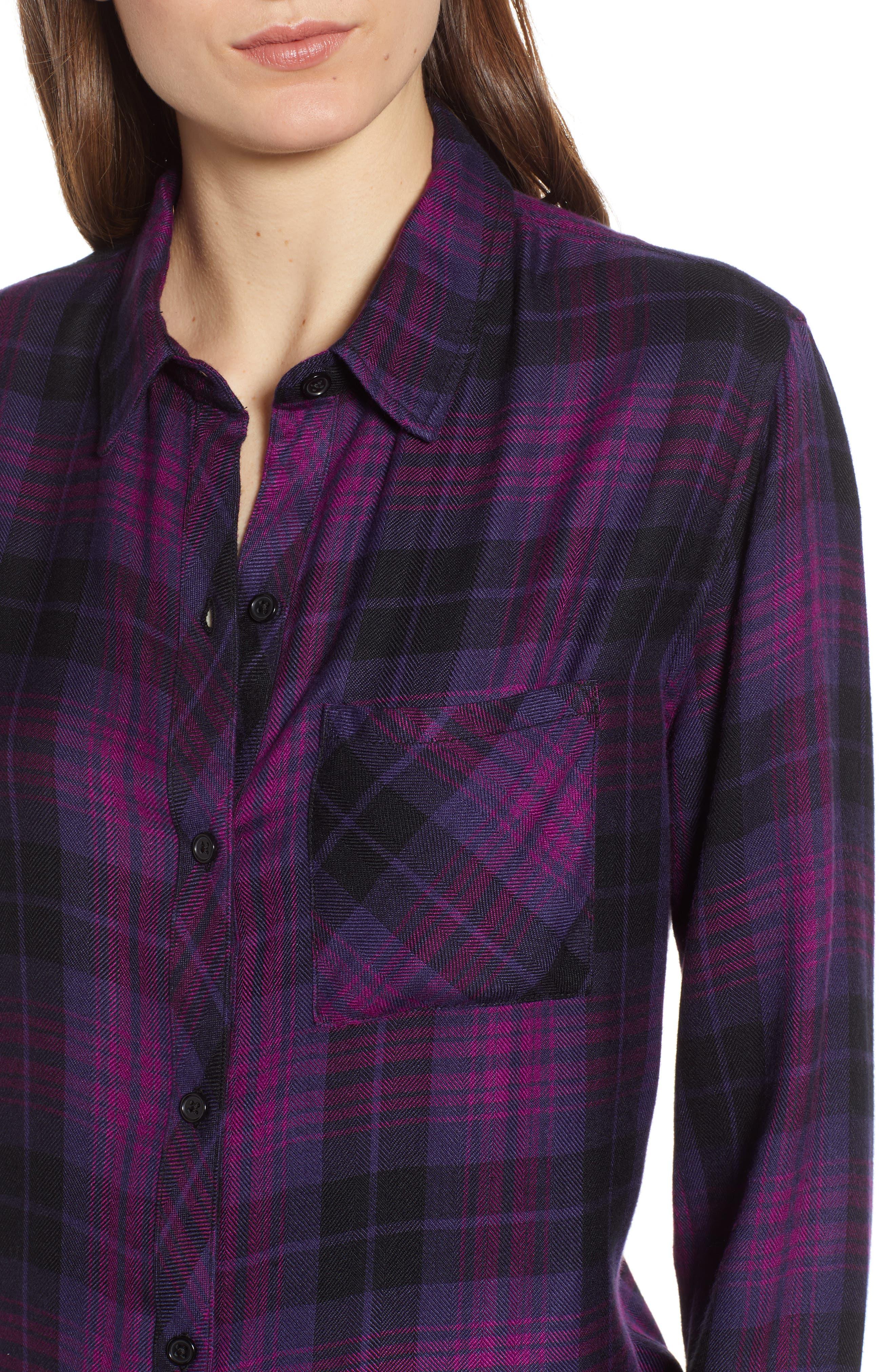 ,                             Hunter Plaid Shirt,                             Alternate thumbnail 400, color,                             501