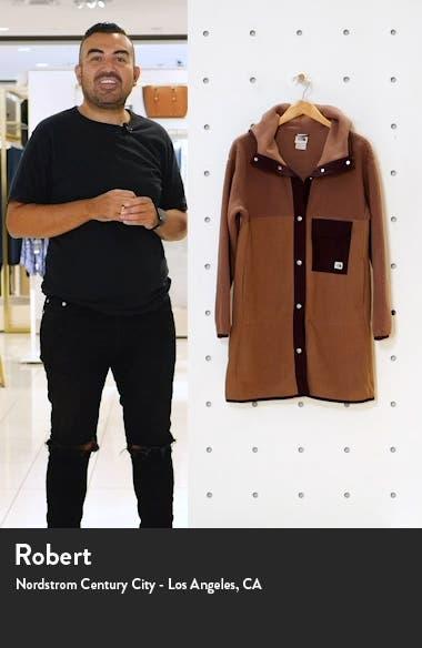 Mashup Fleece Hooded Coat, sales video thumbnail