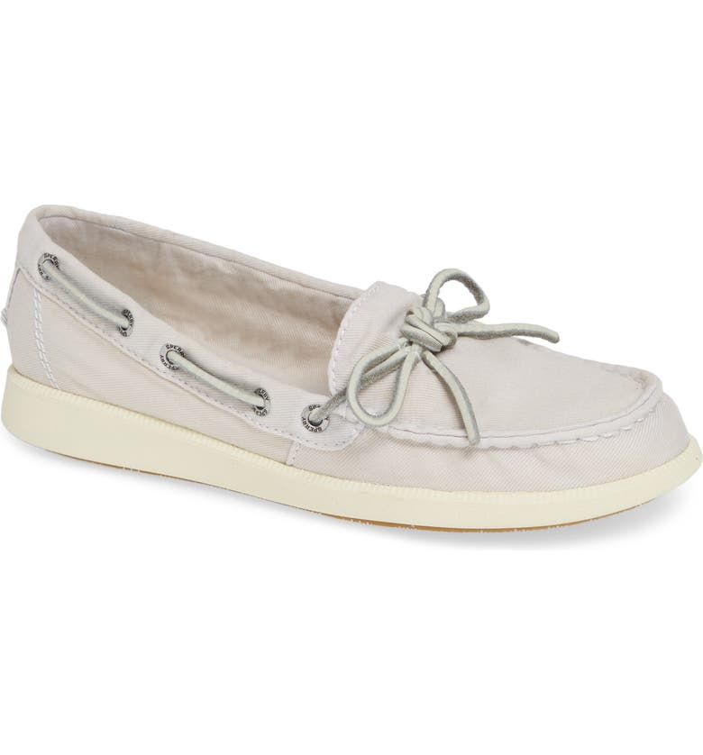 SPERRY Oasis Boat Shoe, Main, color, IVORY CANVAS