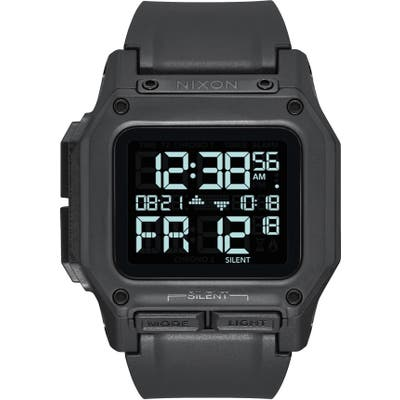 Nixon Regulus Digital Watch, 4m