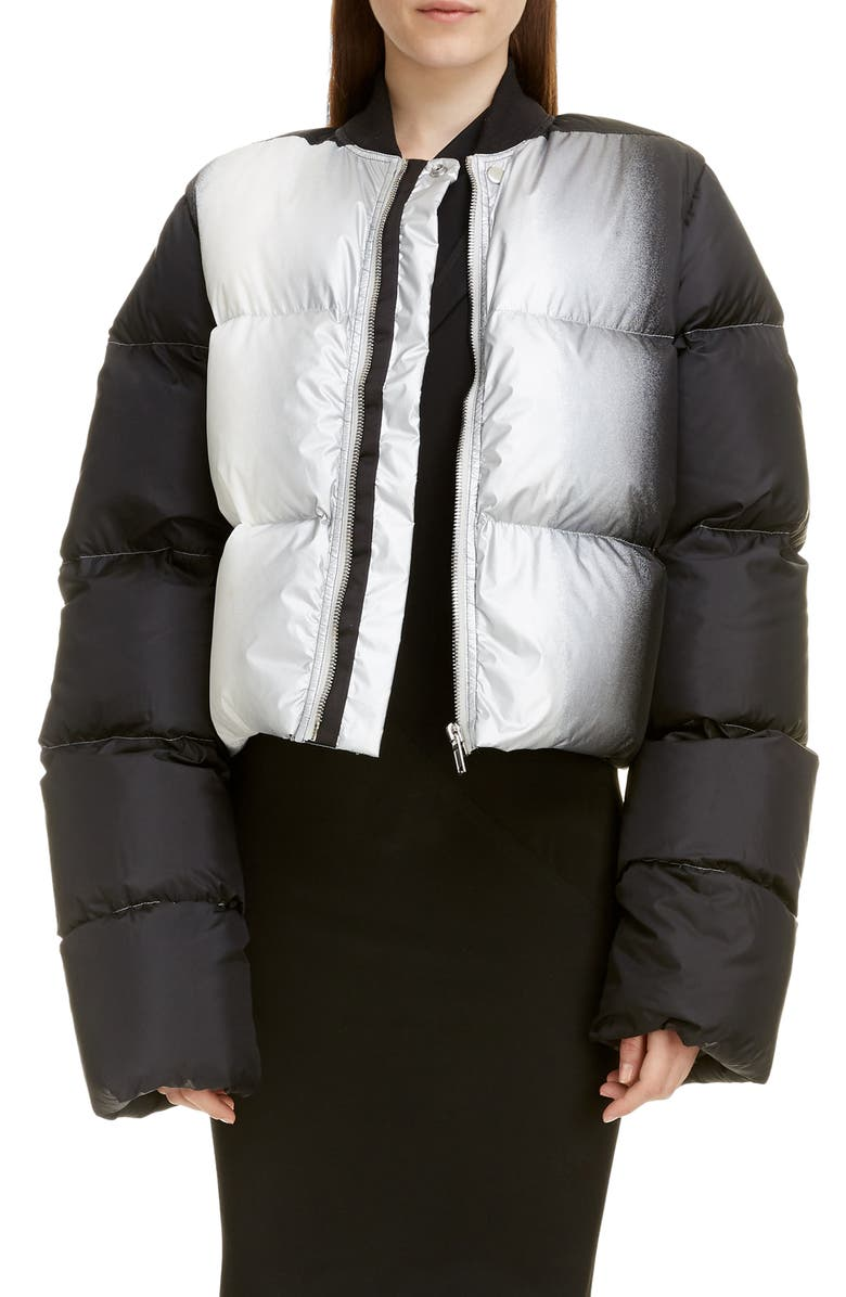 RICK OWENS Down Puffer Jacket, Main, color, MULTI
