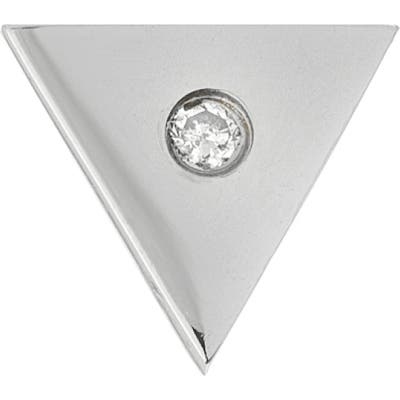 Mini Mini Jewels Forever Collection - Triangle Diamond Stud Earring