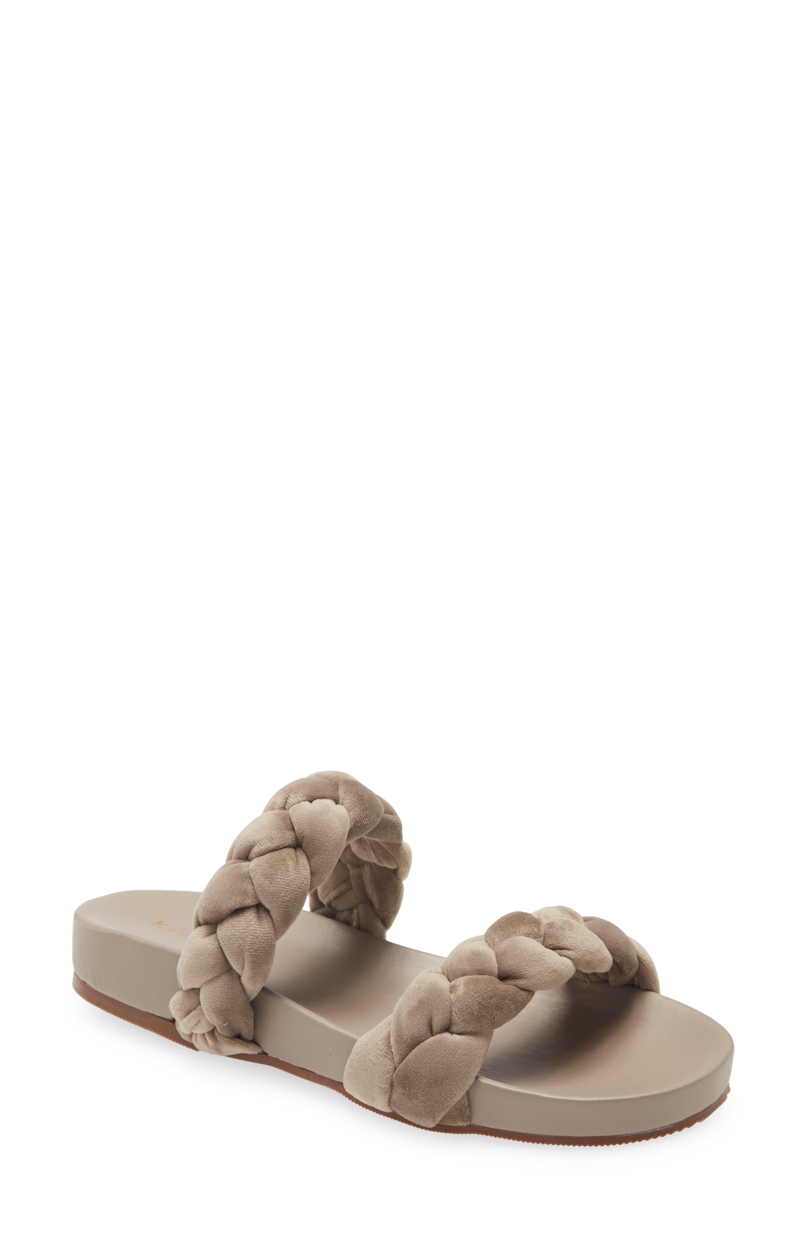 Coco Chunky Braided Pool Slide Sandal