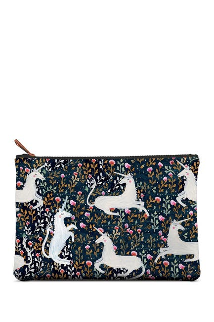 Image of ORANGE CIRCLE STUDIO Stay Magical Large Zippered Pouch