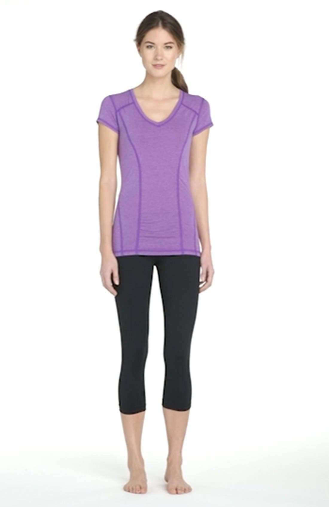,                             Live In Streamline Reversible Capris,                             Alternate thumbnail 6, color,                             001