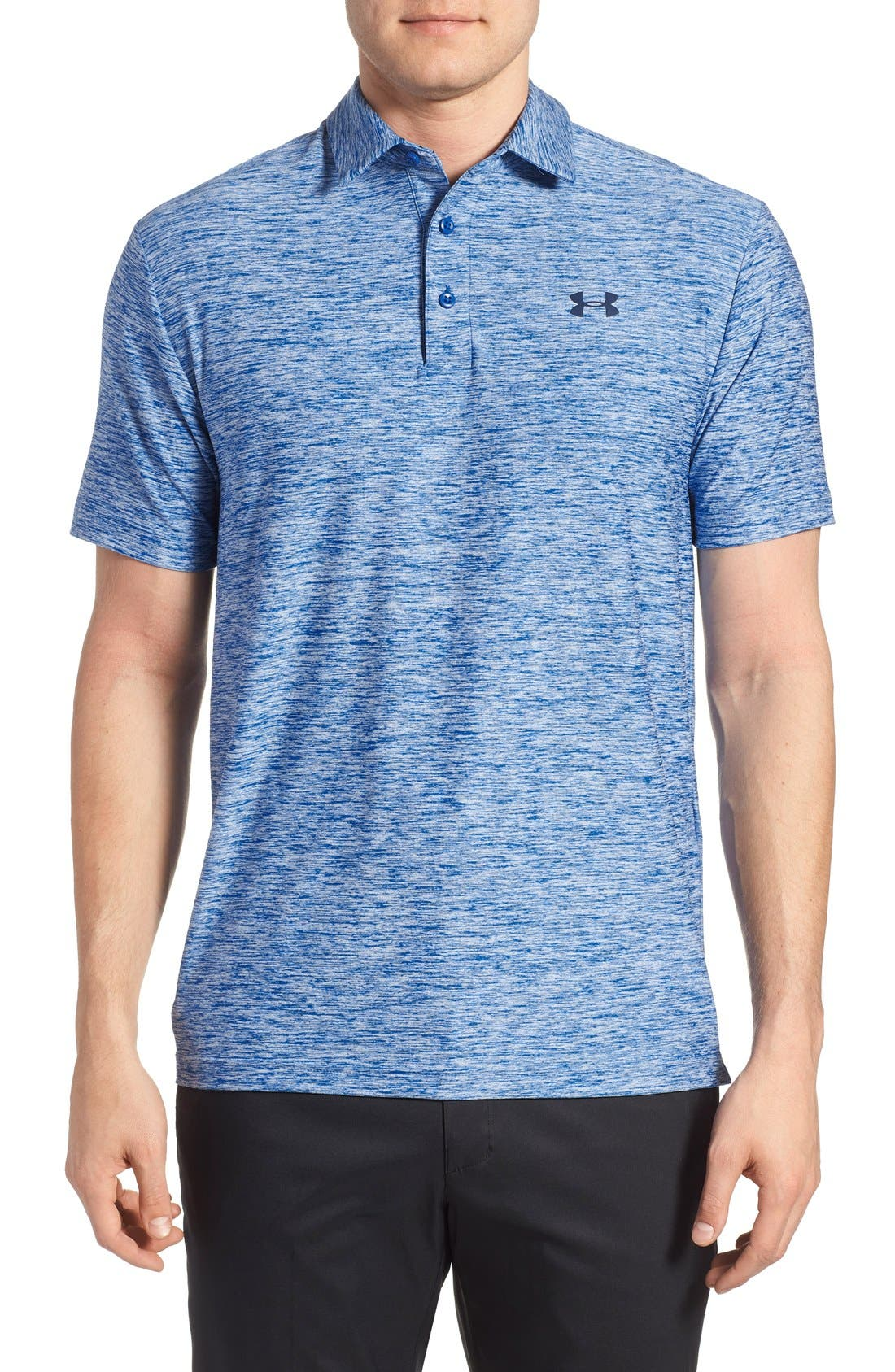 ,                             'Playoff' Loose Fit Short Sleeve Polo,                             Main thumbnail 269, color,                             442