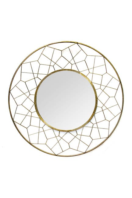 Image of Stratton Home Gold Aimee Mirror