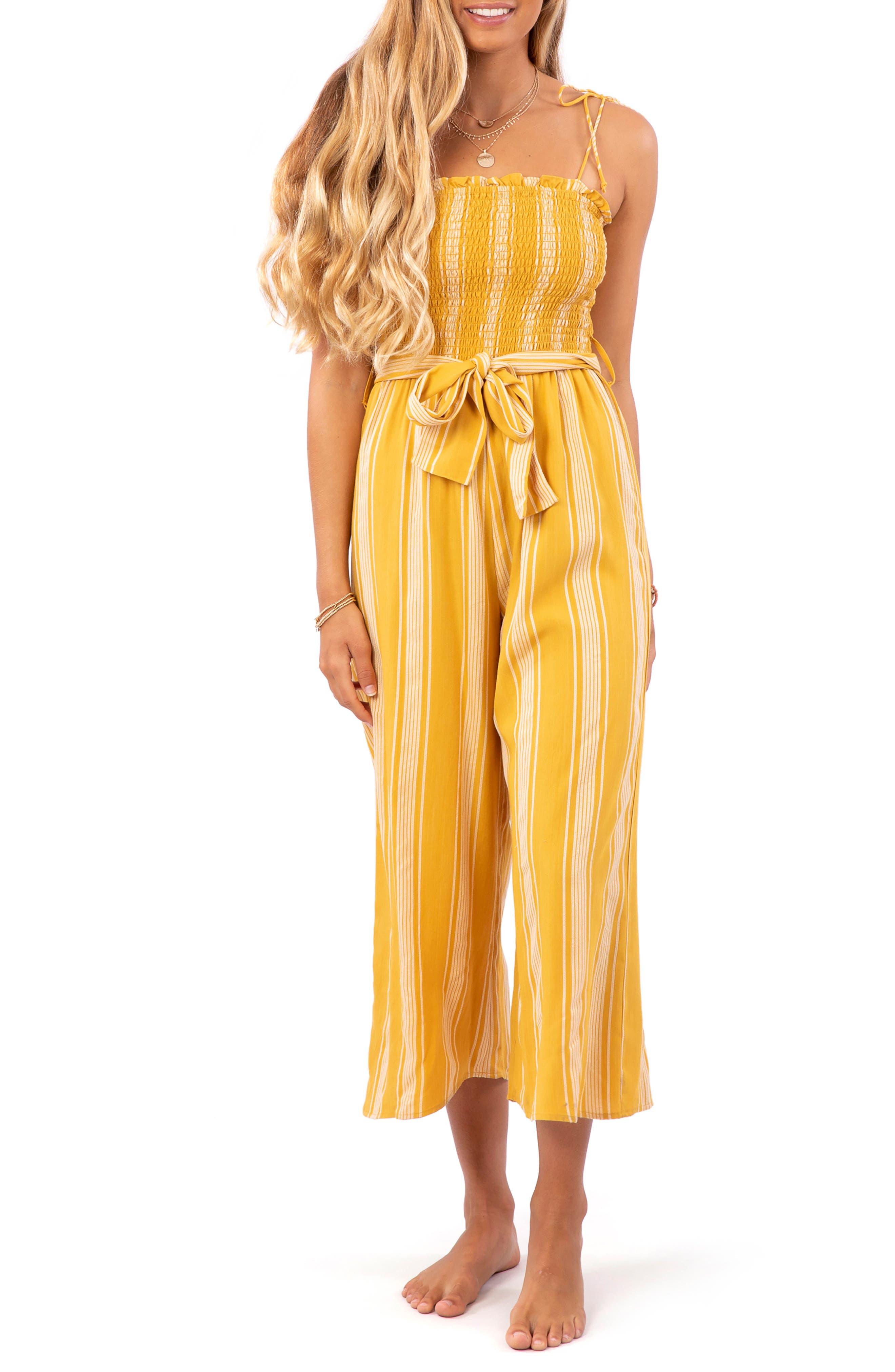 boho playsuit Jumpsuit for women Linen romper women Women/'s overalls Women/'s romper Hippie Jumpsuit Yellow Jumpsuit Women/'s Jumpsuit