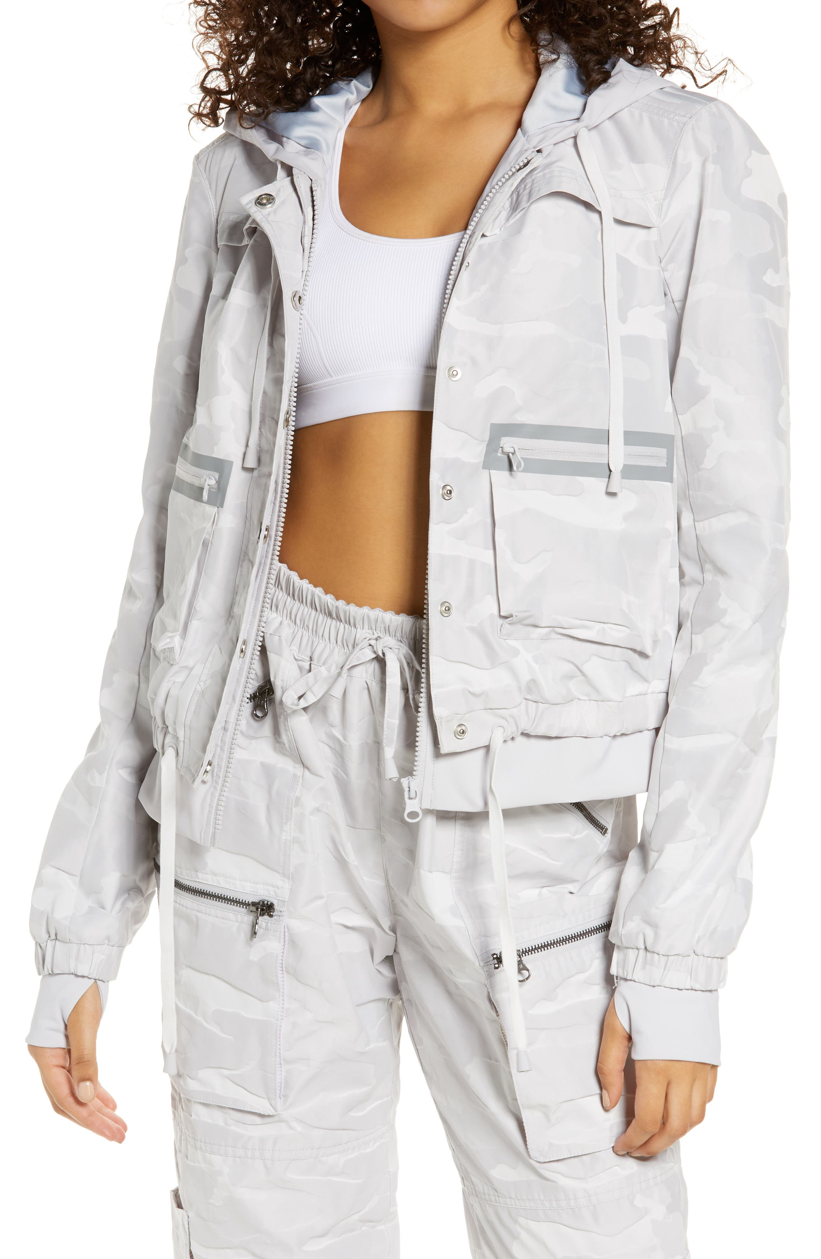 Skyfall Hooded Aviator Jacket