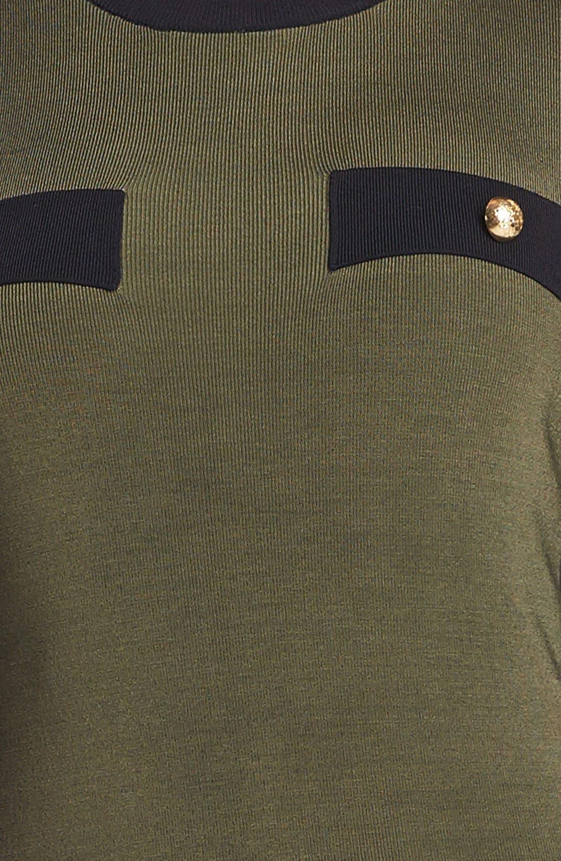 ,                             Military Sweater Dress,                             Alternate thumbnail 2, color,                             775