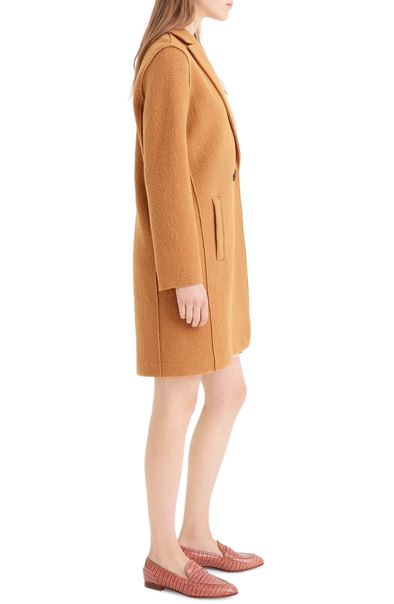 ,                             Daphne Boiled Wool Topcoat,                             Alternate thumbnail 37, color,                             250
