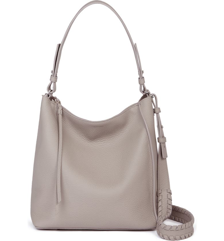 ALLSAINTS Kita Leather Shoulder/Crossbody Bag, Main, color, 020
