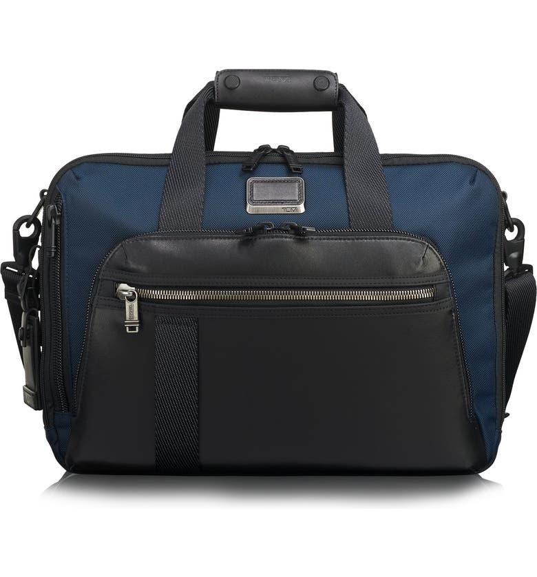 TUMI Alpha Bravo Mountain Convertible 3-Way Briefcase, Main, color, NAVY