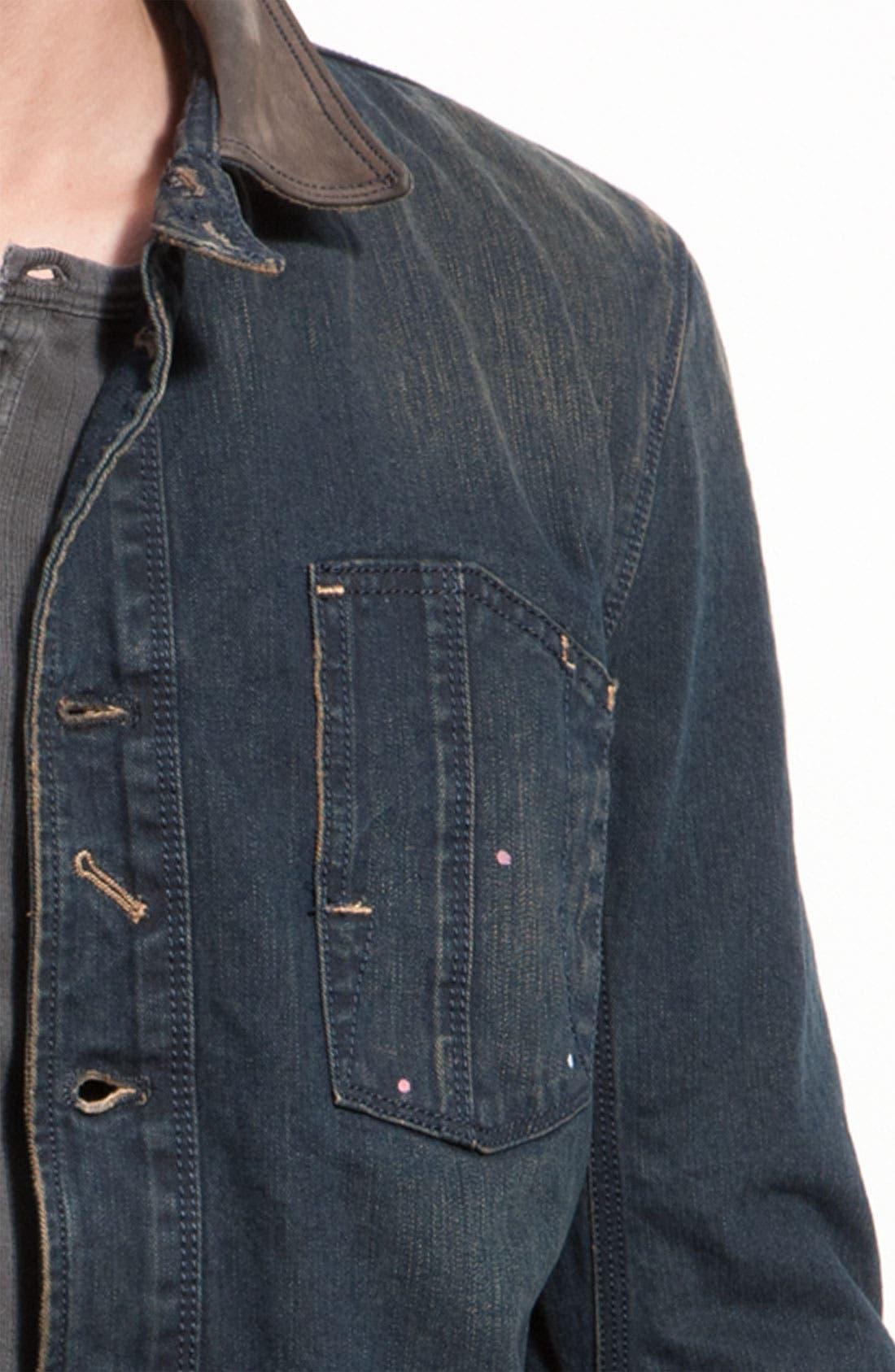 ,                             Denim Jacket,                             Alternate thumbnail 2, color,                             900