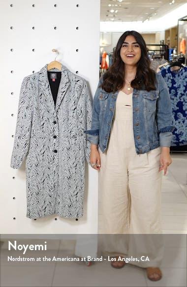 Zebra Jacquard Coat, sales video thumbnail
