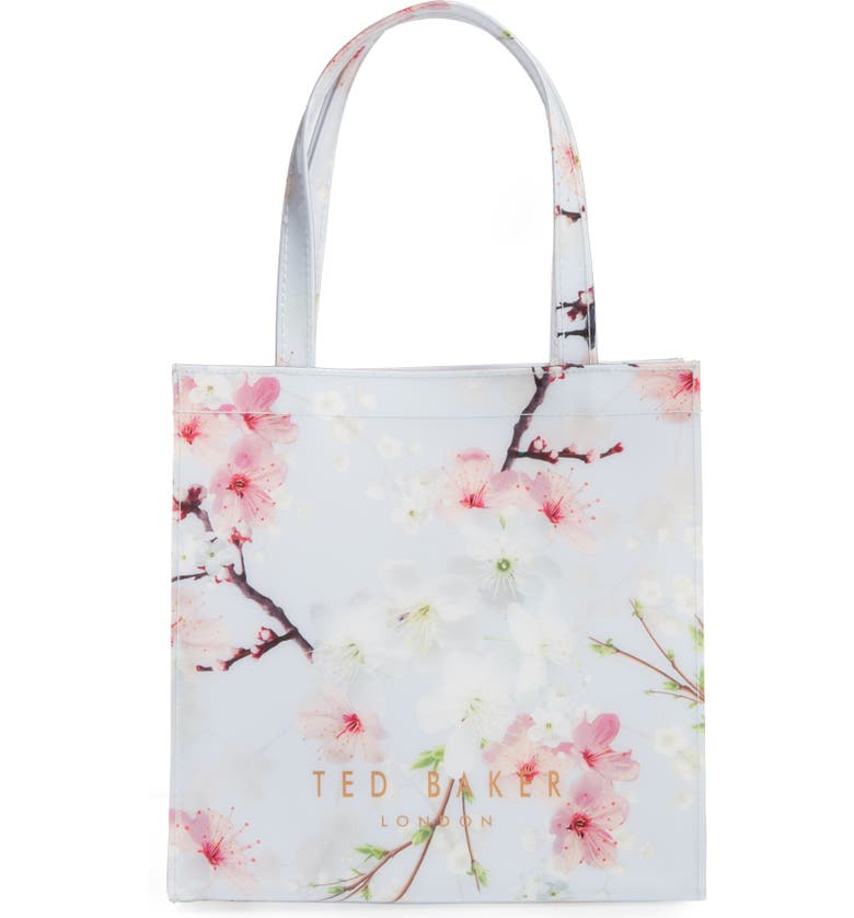 TED BAKER LONDON Cherry Blossom Small Icon Tote, Main, color, 020