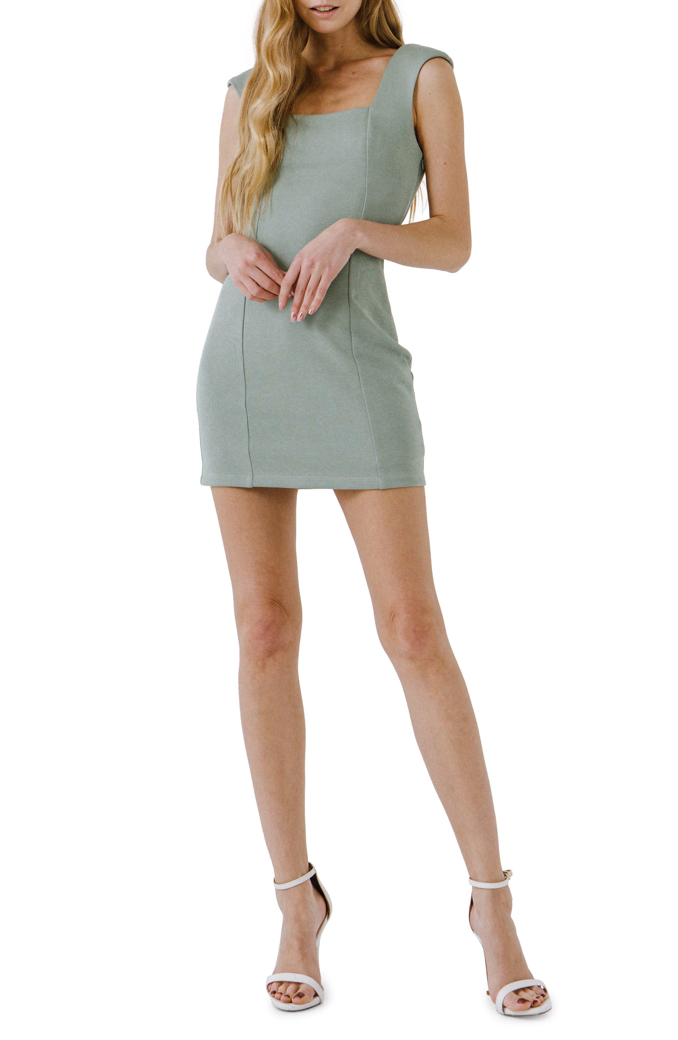 Sleeveless Body-Con Minidress