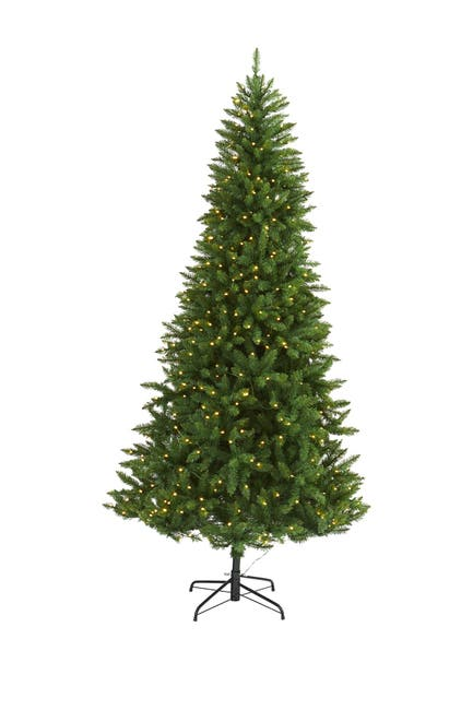 Image of NEARLY NATURAL 7.5ft. Green Valley Fir Artificial Christmas Tree
