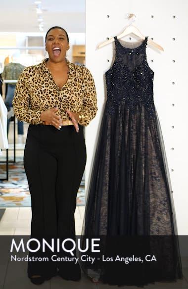 Sparkling Lace Evening Dress, sales video thumbnail