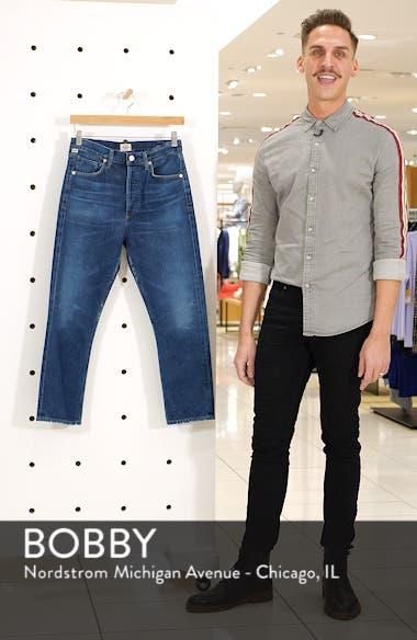 Crop Straight Leg Jeans, sales video thumbnail