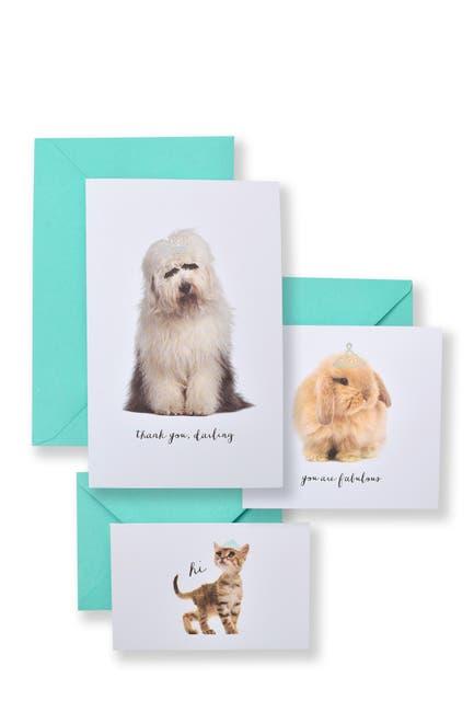 Image of GARTNER STUDIOS Assorted Animals Notecards - 60-Count