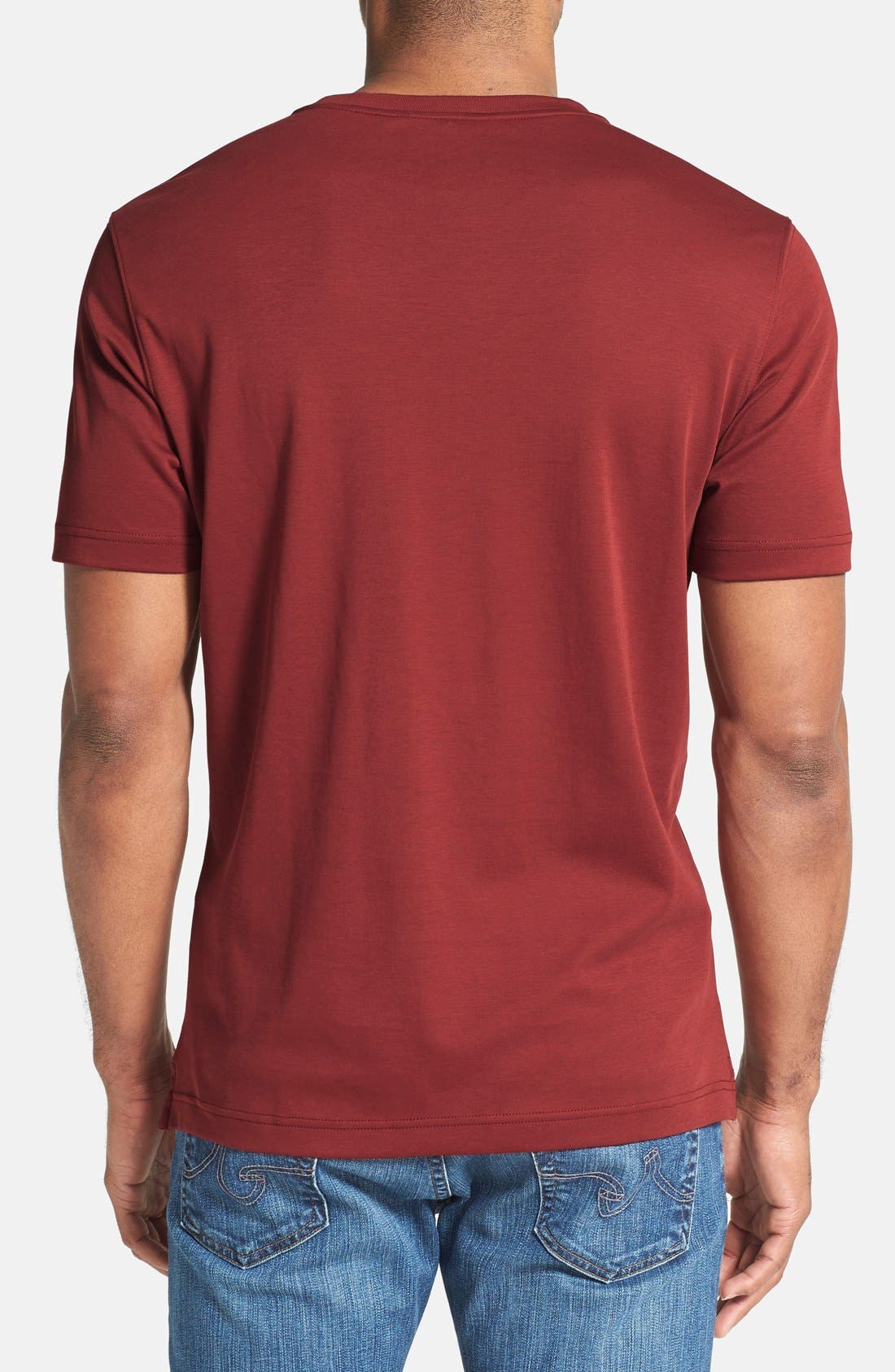 ,                             Georgia Crewneck T-Shirt,                             Alternate thumbnail 455, color,                             623