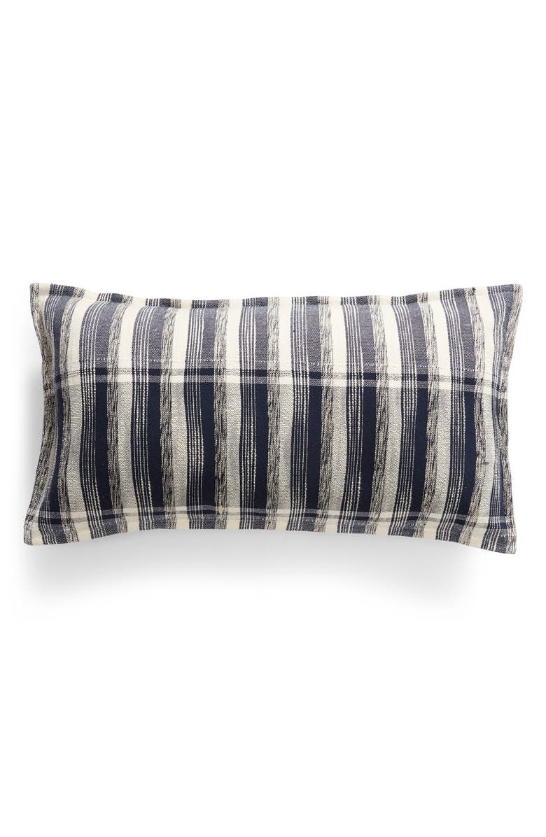 VILLA HOME COLLECTION Daine Accent Pillow, Main, color, NAVY