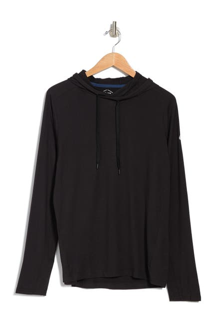 Image of ASICS Suede Stretch Jersey Hoodie