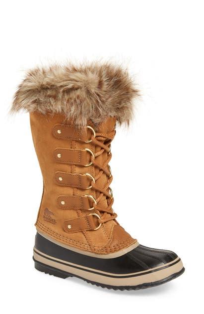 Sorel Boots JOAN OF ARCTIC FAUX FUR WATERPROOF SNOW BOOT